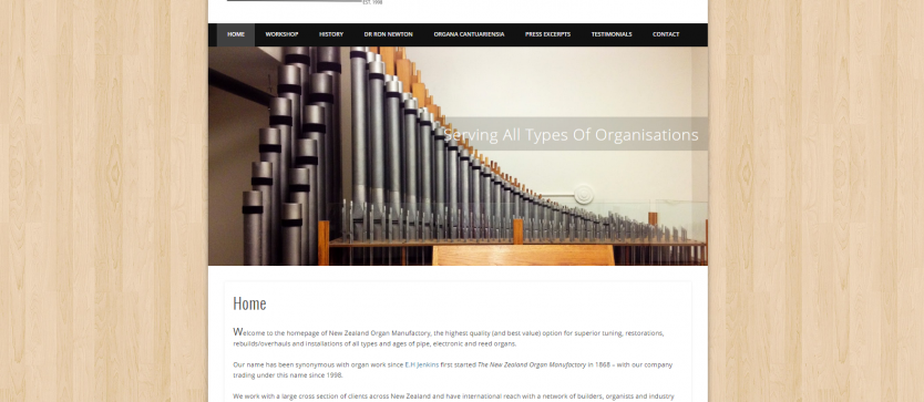 NZ Organ Manufactory